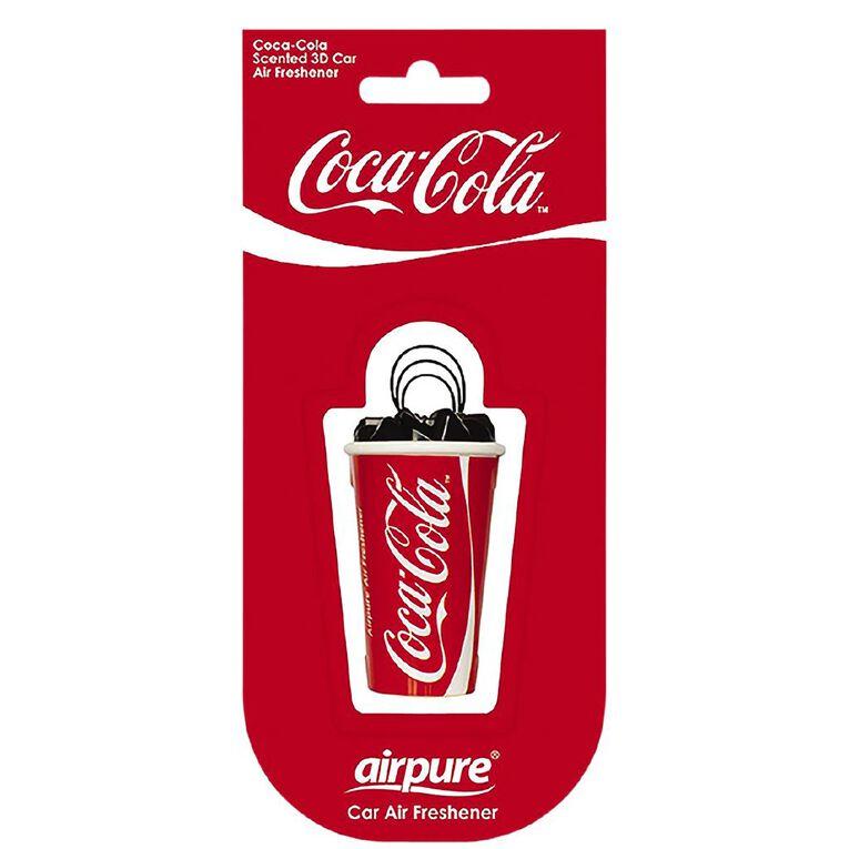 Coca-Cola Car Air Freshener Original 3D, , hi-res