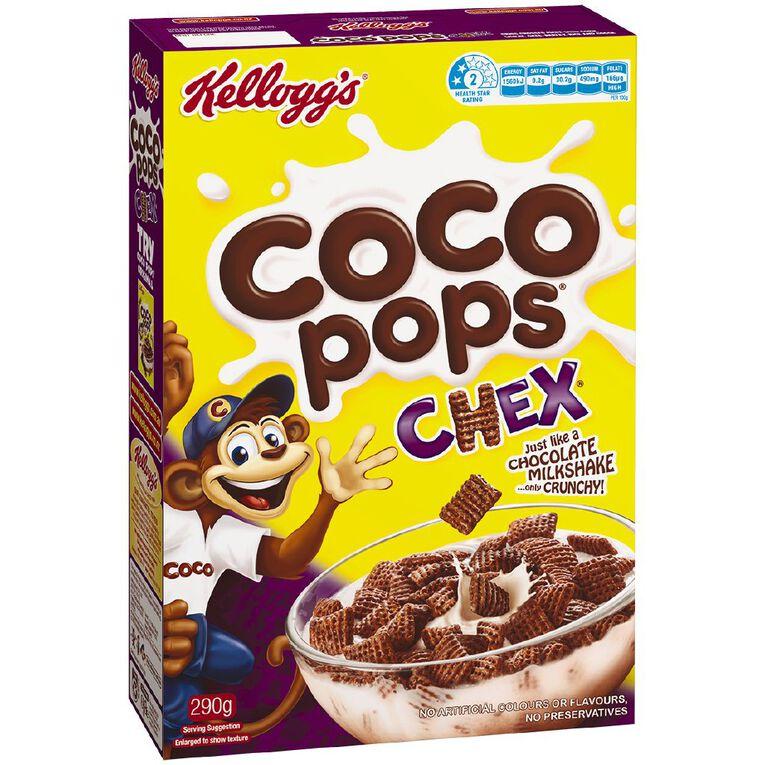 Kelloggs Coco Pops Chex Cereal 290g, , hi-res