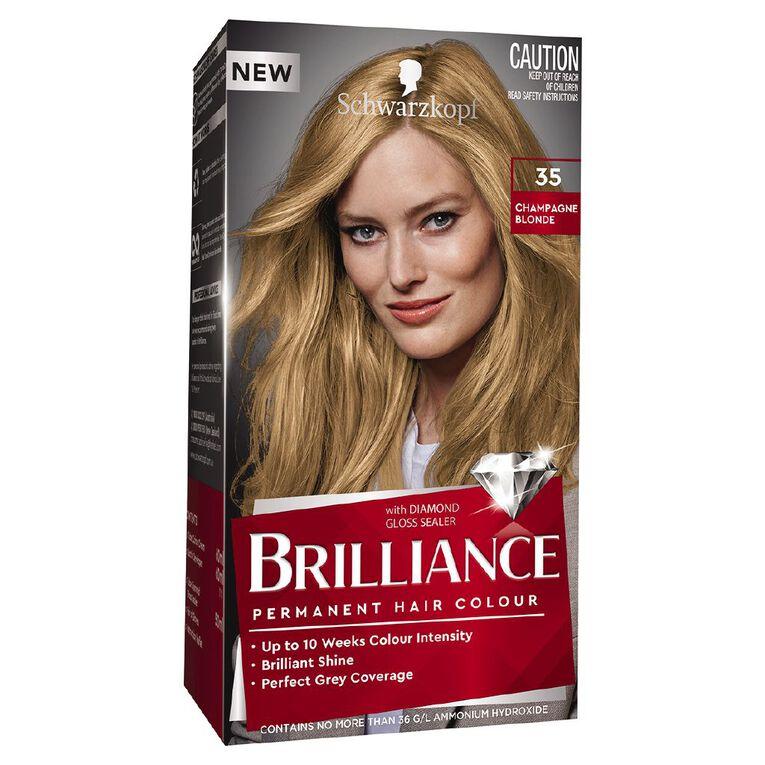 Schwarzkopf Brilliance 35 Champagne Blonde, , hi-res