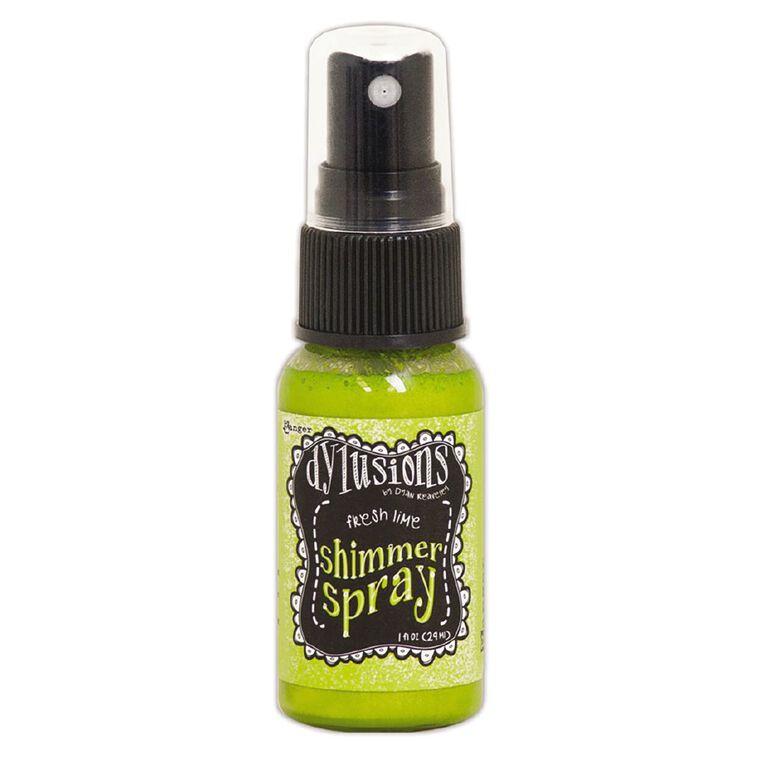 Ranger Dylusions Shimmer Spray Fresh Lime, , hi-res