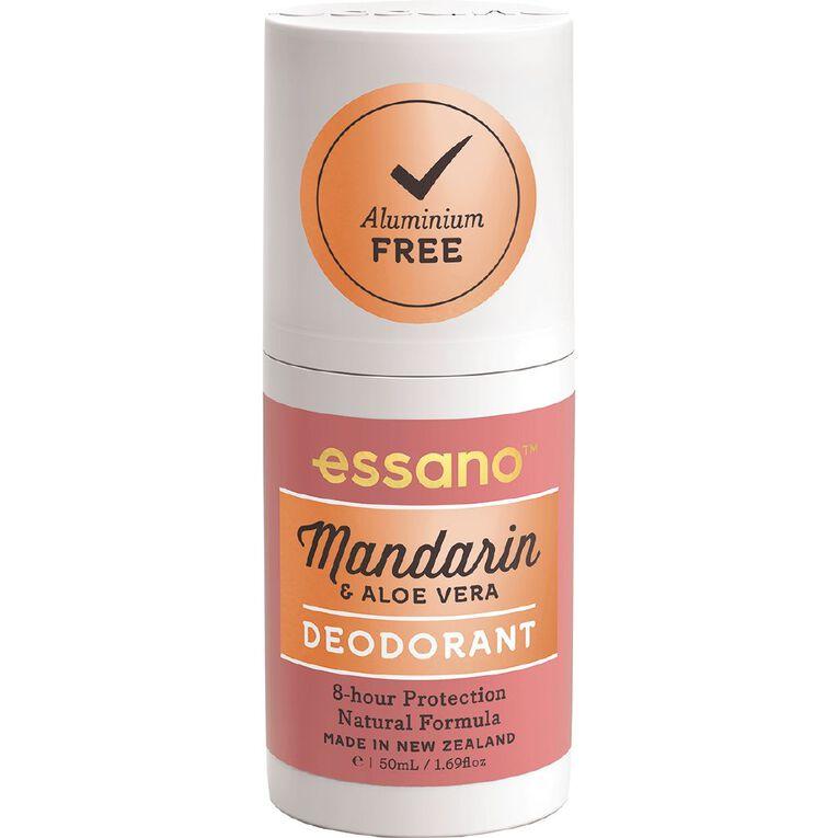 Essano Roll On Deodorant Mandarin 50ml, , hi-res