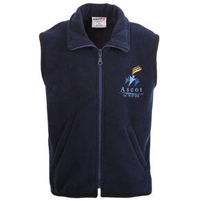 Schooltex Ascot Polar Fleece Vest with Embroidery