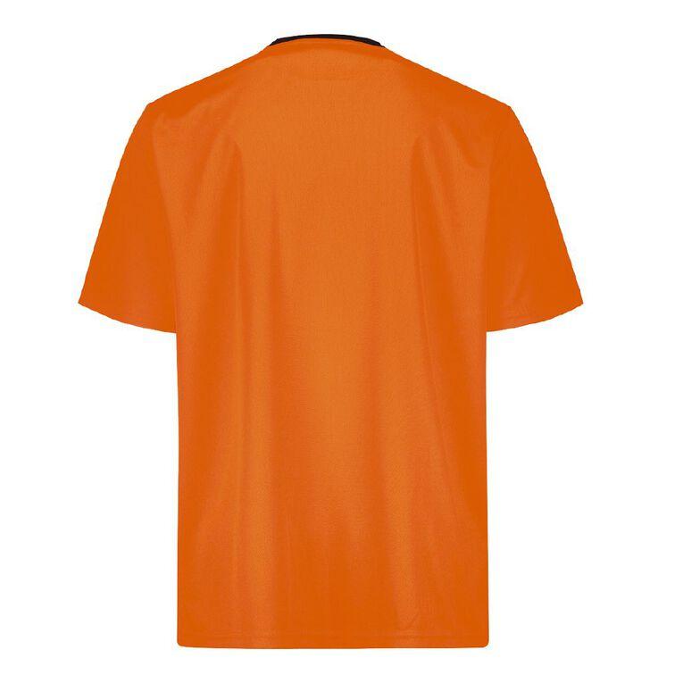 Rivet Compliant Short Sleeve Fluoro Tee, Orange, hi-res image number null