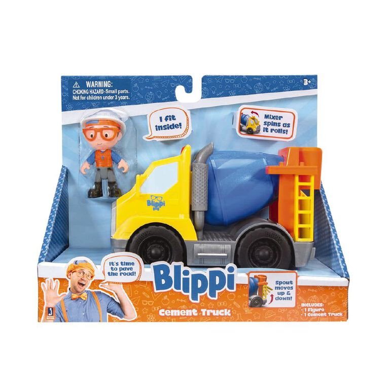 Blippi Feature Vehicle Assorted, , hi-res image number null