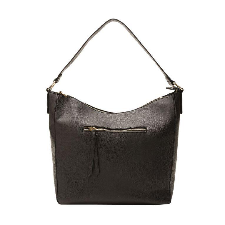 H&H Ruby Shoulder Handbag, Black, hi-res