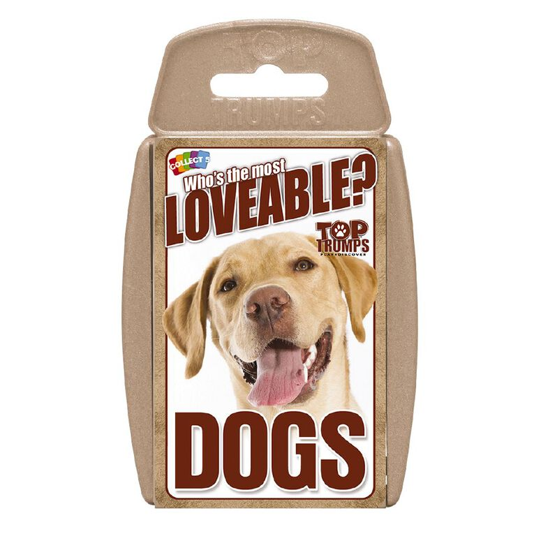 Dogs Top Trumps Game, , hi-res