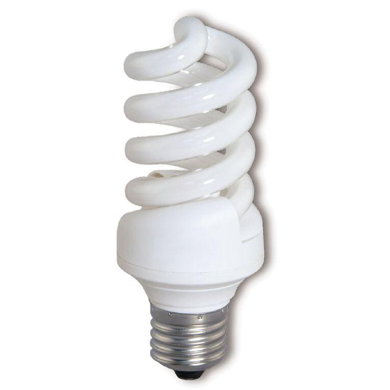 Edapt CFL Mini Energy Saving E27 Light Bulb 20w, , hi-res