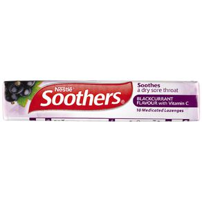 Soothers Blackcurrant 10s