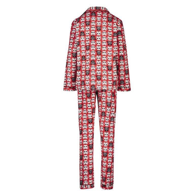 Star Wars Boys' Fleece Pyjamas, Red Light, hi-res