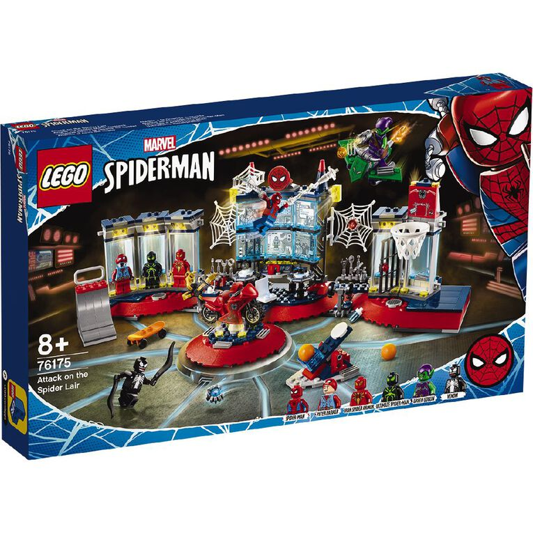 LEGO Marvel Super Heroes Attack on the Spider Lair 76175, , hi-res