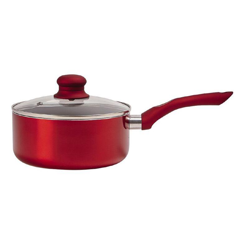 Living & Co Titanium Cook Set Red 5 Pack, , hi-res