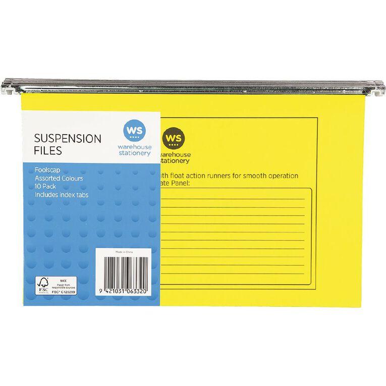 WS Suspension File 10 Pack Assorted, , hi-res