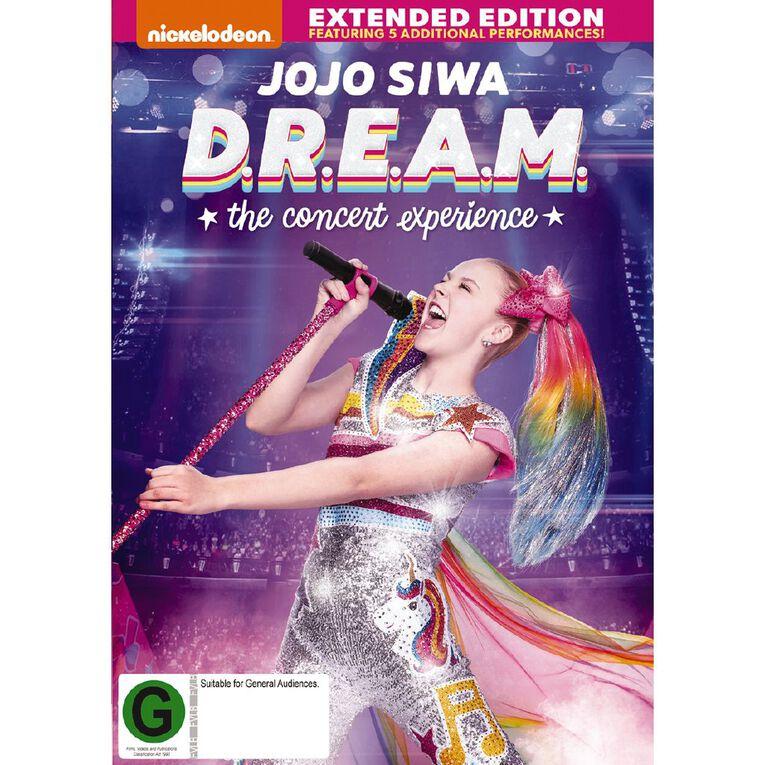 Jojo Siwa D.R.E.A.M The Concert Experience DVD 1Disc, , hi-res