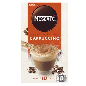 Nescafe Cafe Cappucino 10 Pack