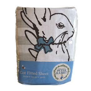 Peter Rabbit Cotton Cot Sheet 1 Pack