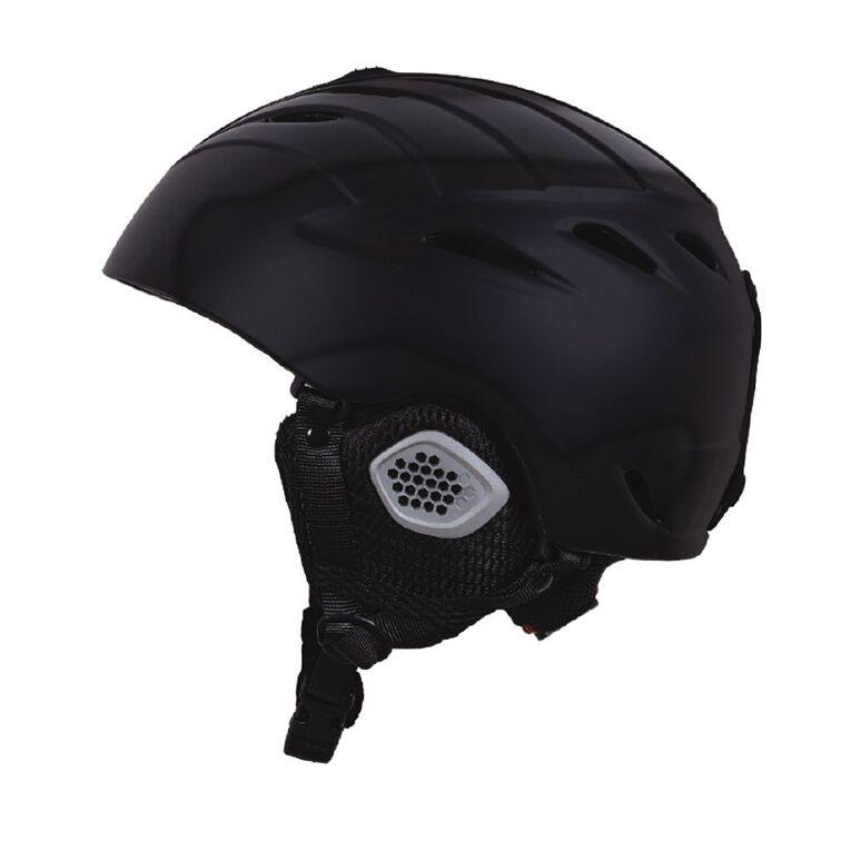 Active Intent Sports Snow Helmet Black Large, , hi-res