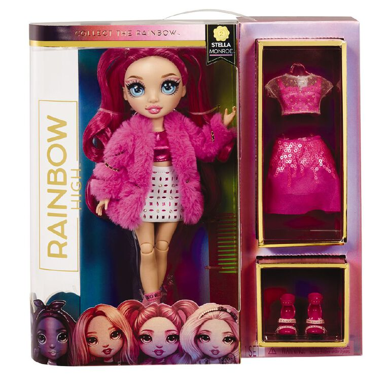 Rainbow High Fashion Doll Fuchsia, , hi-res