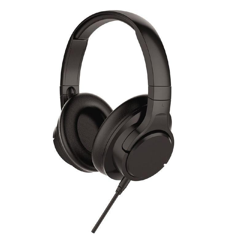 Tech.Inc Noise Cancelling Headphones Black, , hi-res