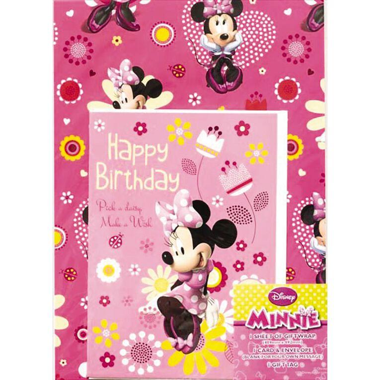 John Sands Pack Wrap Juvenile Disney Minnie Mouse, , hi-res