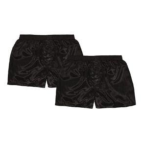 H&H Men's Satin Boxers 2 Pack