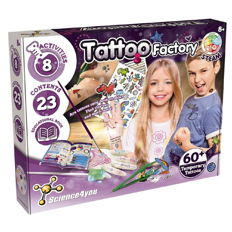 Science4u Tattoo Factory, , hi-res