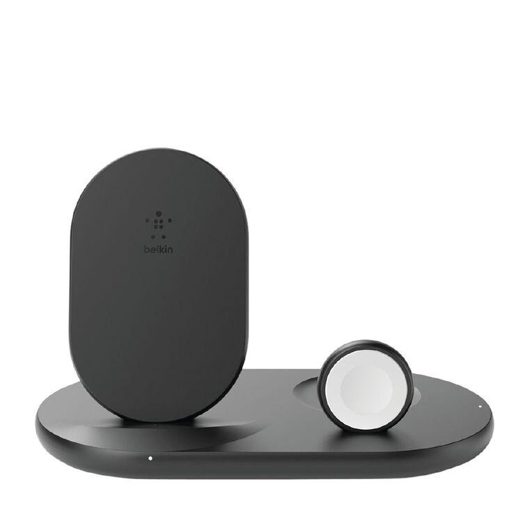 Belkin BoostCharge 10W Qi iPhone Watch Airpod Charger Black, , hi-res