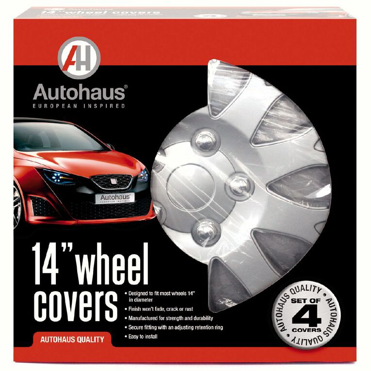 Autohaus Wheel Covers 14 inch, , hi-res