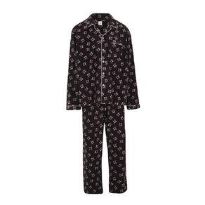 H&H Men's Fleece Pyjama Set