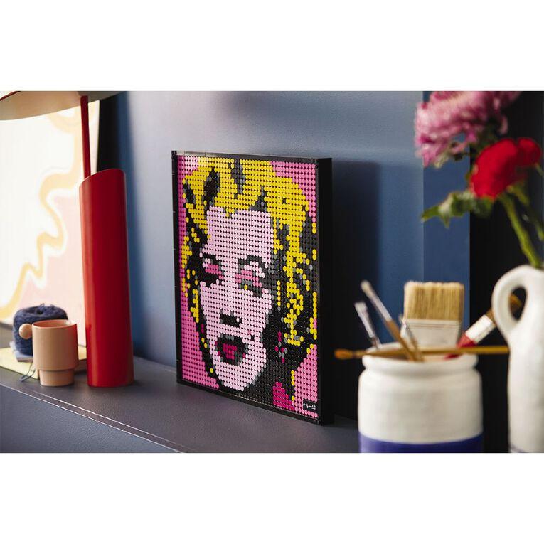LEGO Art Andy Warhols Marilyn Monroe 31197, , hi-res