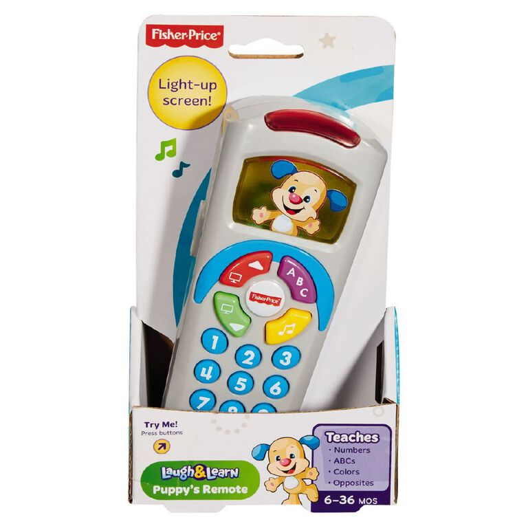 Fisher-Price Laugh & Learn Puppy Remote Assorted, , hi-res