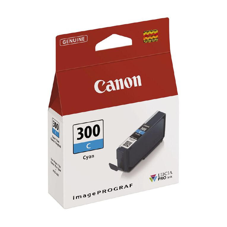 Canon Ink Lucia Pro PFI-300 Cyan, , hi-res