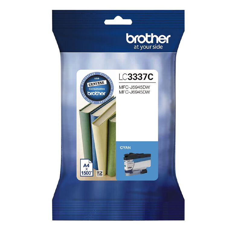 Brother Ink LC3337C Cyan (1500 Pages), , hi-res