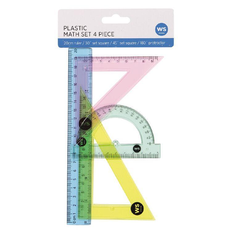 WS Colour Math Colour Set Clear, , hi-res