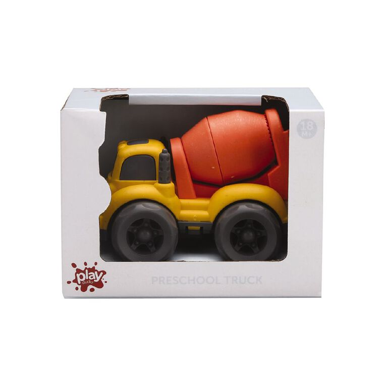 Play Studio Preschool Yellow Cement Mixer Truck, , hi-res