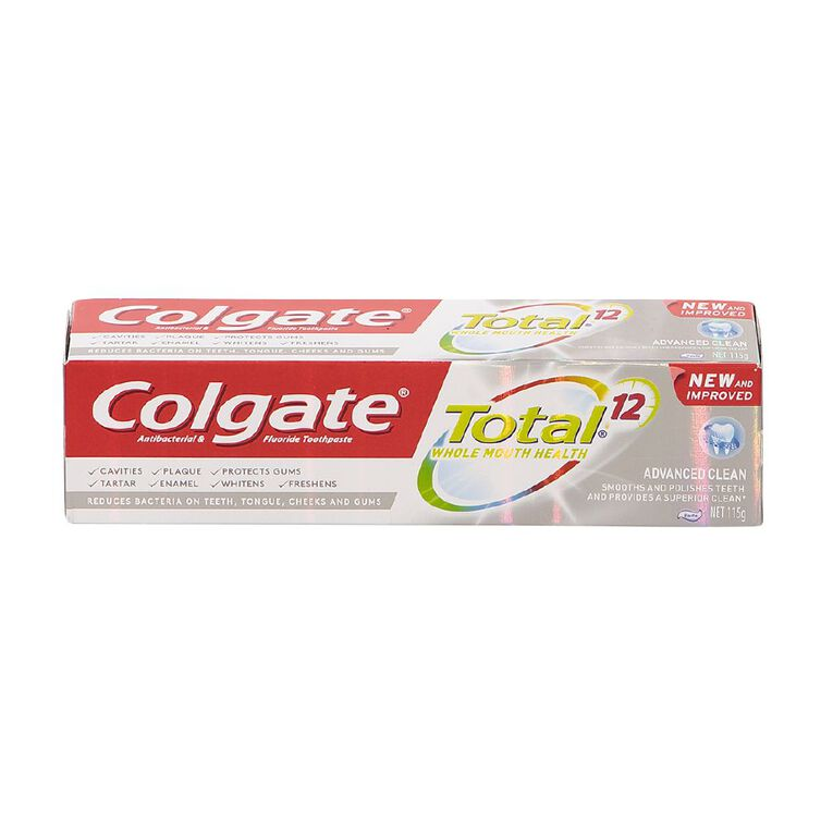 Colgate Total Toothpaste Advanced Clean 115g, , hi-res