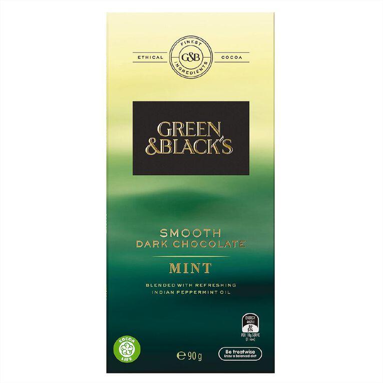 Green & Black's Green & Black's Velvet Edition Dark Mint Chocolate 90g, , hi-res