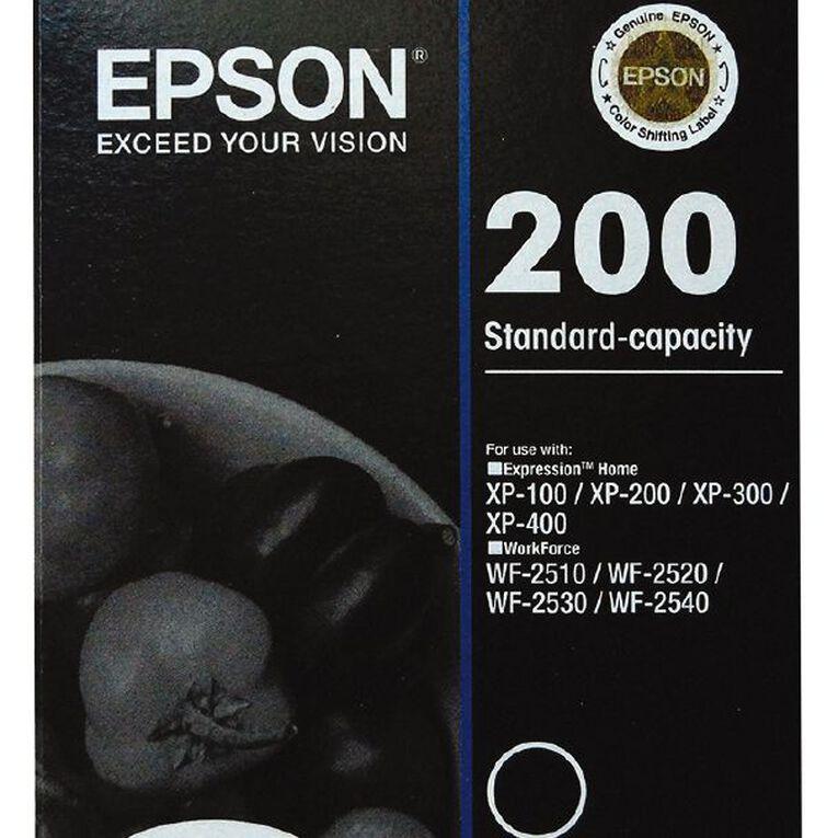 Epson Ink 200 Black (175 Pages), , hi-res