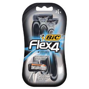 Bic Shaver Flex4 3 Pack