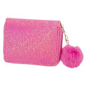 Kids' Pink Pom Pom Wallet