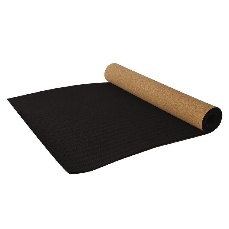Active Intent Fitness Cork Yoga Mat, , hi-res