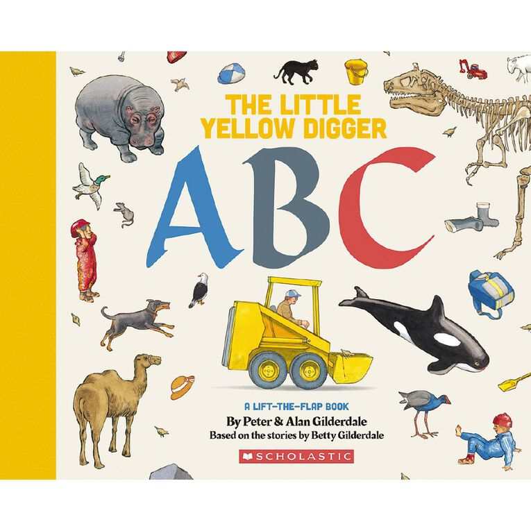 The Little Yellow Digger ABC by Peter Gilderdale, , hi-res
