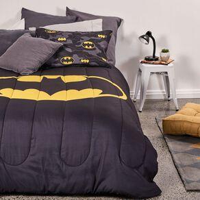 Batman Comforter Set Black King Single