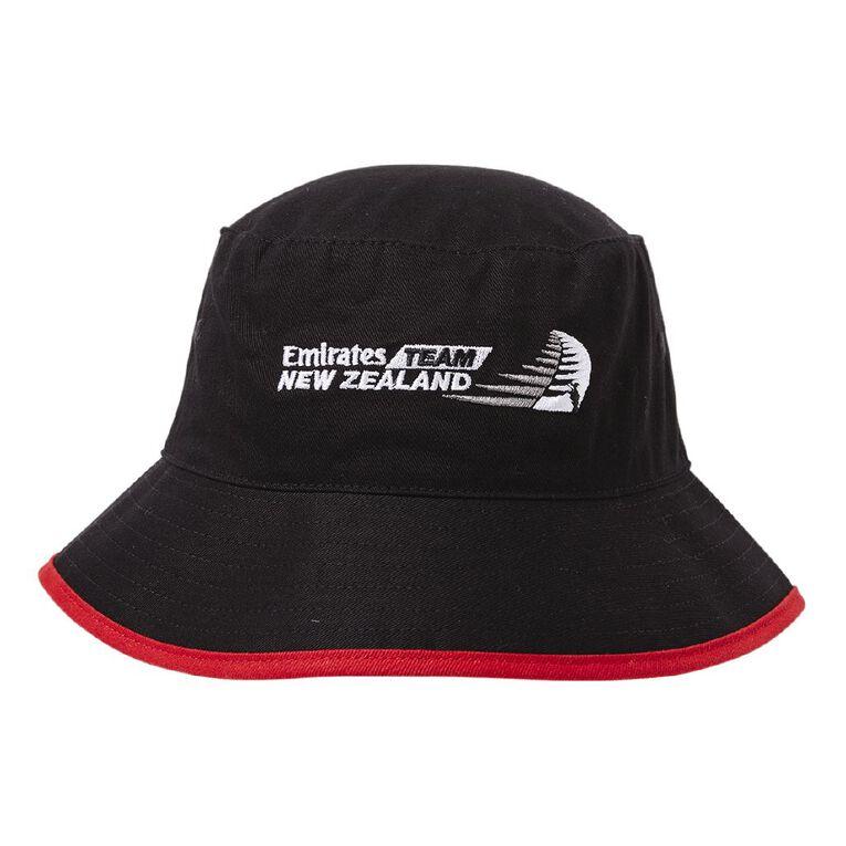 Unisex America's Cup Hat, Black, hi-res