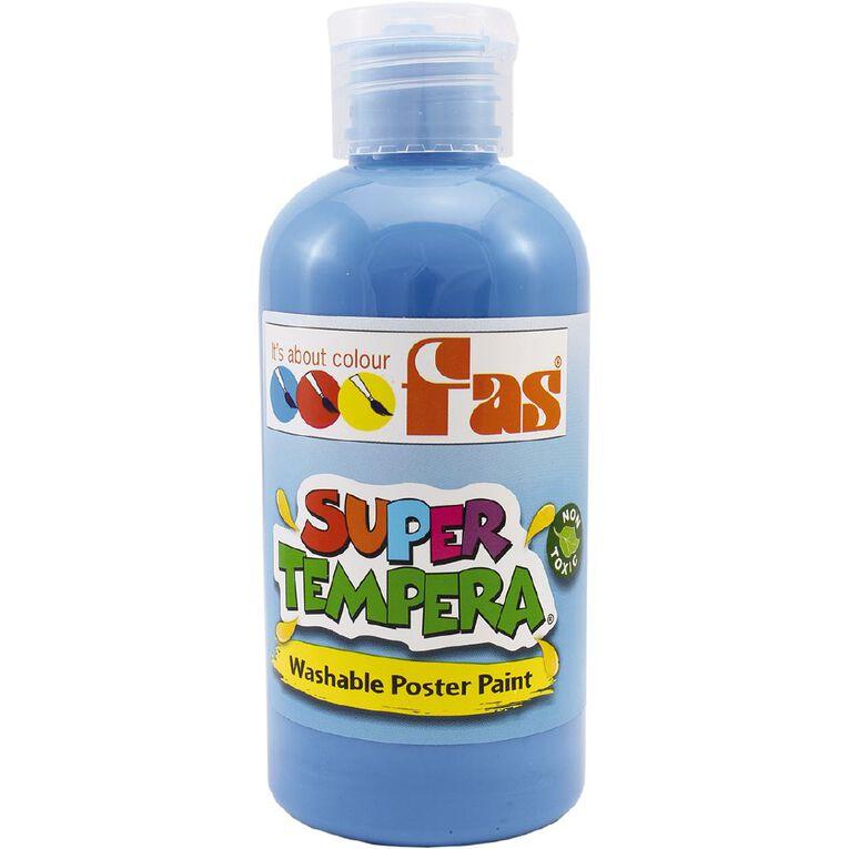 FAS Paint Super Tempera 250ml Cobalt Blue, , hi-res