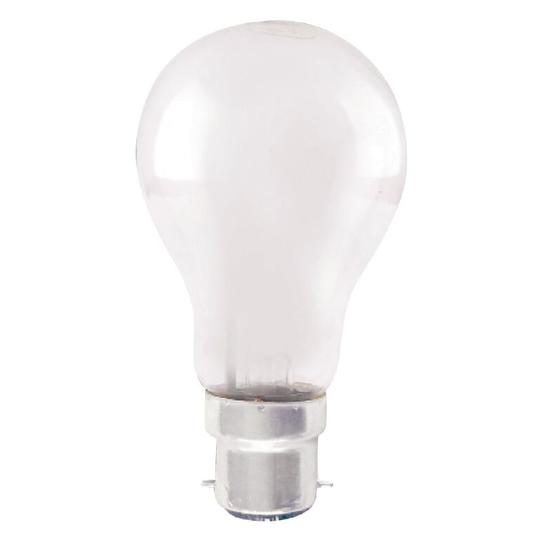 Edapt Halogen B22 Classic Light Bulb Frosted 100w Warm White, , hi-res