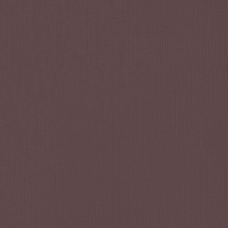 American Crafts Cardstock Textured Coffee Brown 12in x 12in, , hi-res