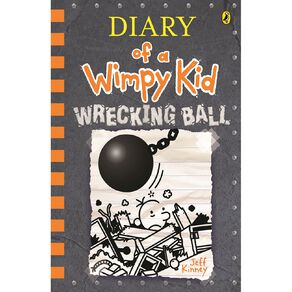 Diary of a Wimpy Kid #14 Wrecking Ball by Jeff Kinney N/A