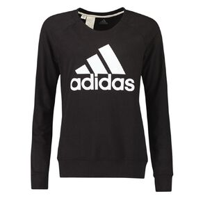 Adidas Women's French Terry Logo Pullover