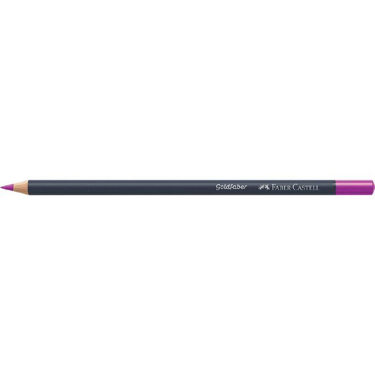 Faber-Castell Colour Pencil Goldfaber Col125 - Middle Purple Pink, , hi-res