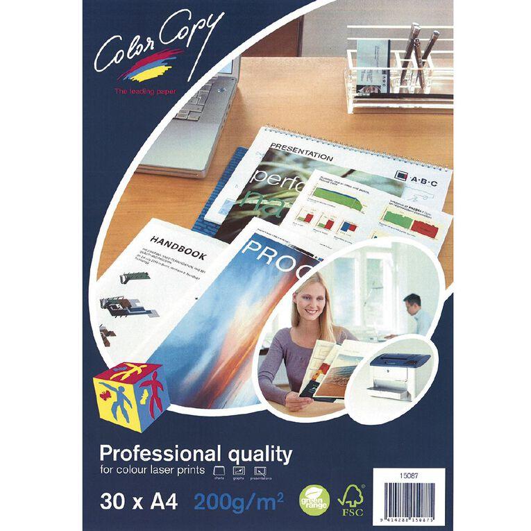 Color Copy Digital Laser Paper 200gsm 30 Pack, , hi-res